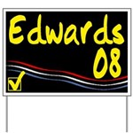 Edwards 08 Yard Sign