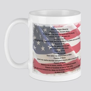 Pagan Military Blessing Mug