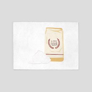 All-Purpose Flour 5'x7'Area Rug