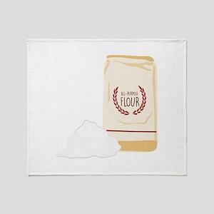 All-Purpose Flour Throw Blanket