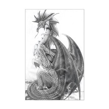 Water Dragon Poster Print