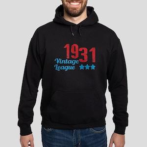 1931 Vintage League Hoodie (dark)