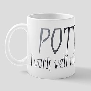 Potter.IWorkWellWithMyHands Mugs