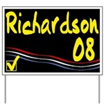 Richardson 08 Yard Sign