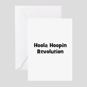 Hoola Hoopin Revolution Greeting Cards (Pk of 10)