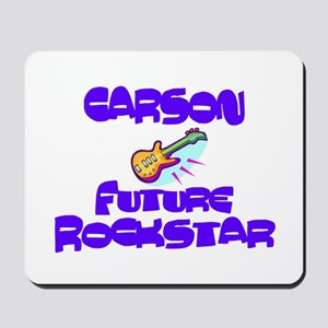 Carson - Future Rock Star Mousepad