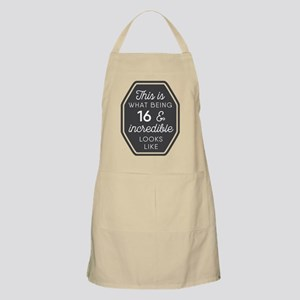 Being 16 and Incredible Apron