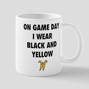 Wichita State On Game Day I Wear 11 oz Ceramic Mug