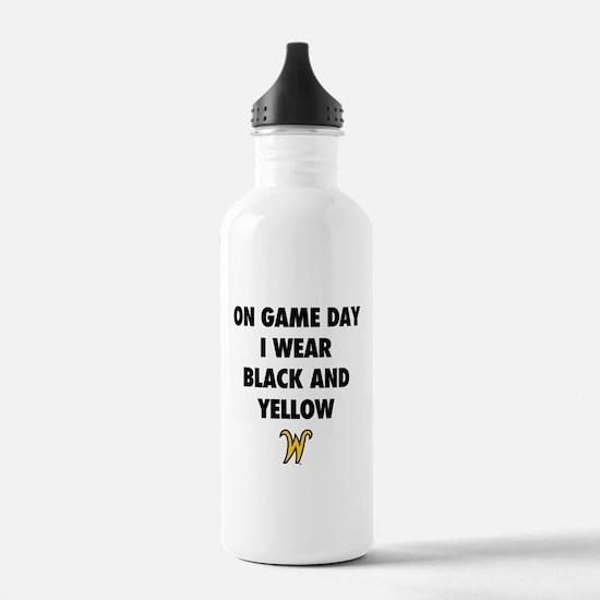 Wichita State On Game Water Bottle