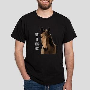 HorseLongFace-Wht T-Shirt