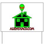 AlienShack Logo Yard Sign