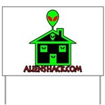 AlienShack Logo Yard Sign