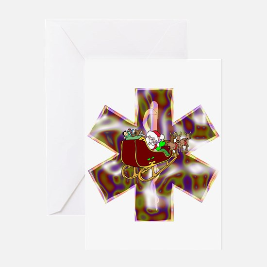 EMS Holiday Gifts and Shirts Greeting Card