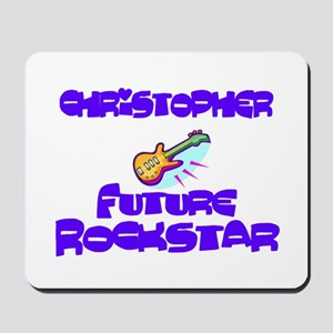 Christopher - Future Rock Sta Mousepad