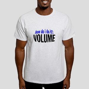 HowVolume-Bk T-Shirt