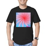 Passionately Pink! Men's Fitted T-Shirt (dark)