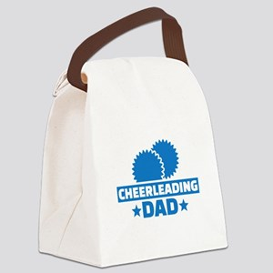 Cheerleading Dad Canvas Lunch Bag
