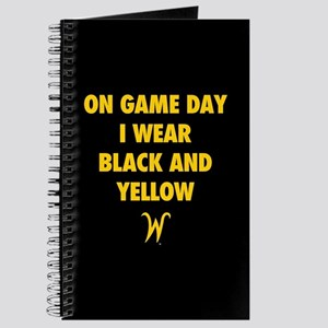 Wichita State On Game Day I Wear Black And Journal