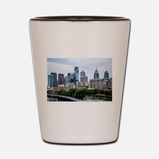 Philadelphia skylight the best Shot Glass