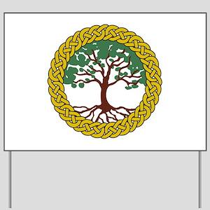 Celtic Tree Of Life Yard Sign