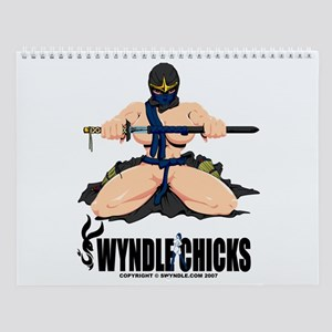 Ninja Wall Calendar