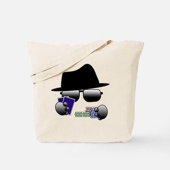 Cute Poker player Tote Bag