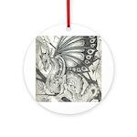 Fairy Dragon Keepsake (Round)