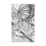 Fairy Dragon Rectangle Sticker
