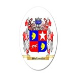 Stefanutto 20x12 Oval Wall Decal
