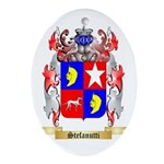 Stefanutti Oval Ornament