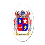 Stefanelli 20x12 Oval Wall Decal