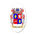 Stefanelli 35x21 Oval Wall Decal