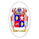 Stefanczyk Sticker (Oval 50 pk)