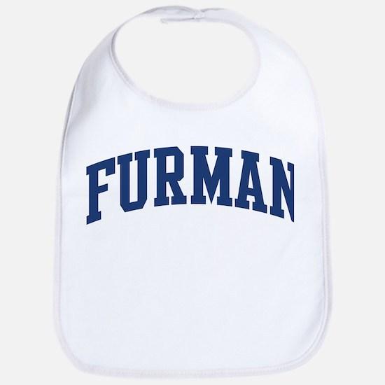 FURMAN design (blue) Bib