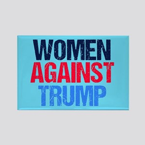 Women Against Trump Rectangle Magnet