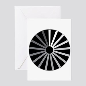 Spinning Wheel Connect Greeting Cards