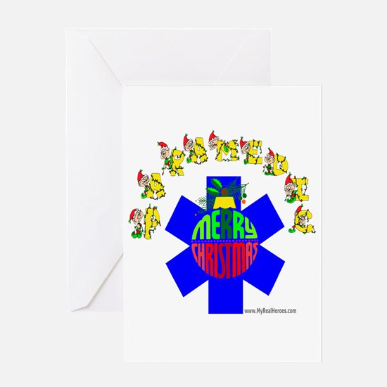 Paramedic Holiday Gifts Greeting Card