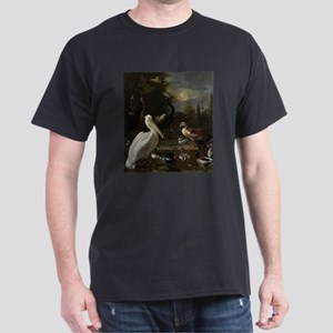 A Pelican and other Birds near a Pool, Kno T-Shirt