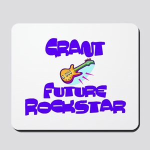 Grant - Future Rock Star Mousepad