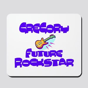 Gregory - Future Rock Star Mousepad