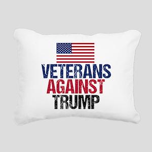 Veterans Against Trump Rectangular Canvas Pillow