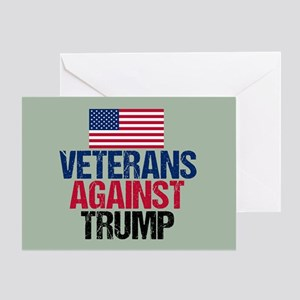Veterans Against Trump Greeting Card