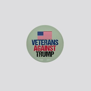 Veterans Against Trump Mini Button
