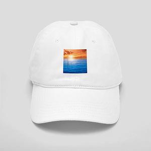 Ocean Sunset Baseball Cap