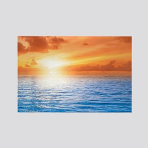 Ocean Sunset Magnets