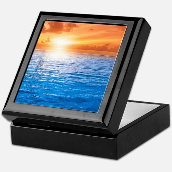 Ocean Sunset Keepsake Box