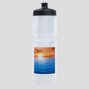 Ocean Sunset Sports Bottle