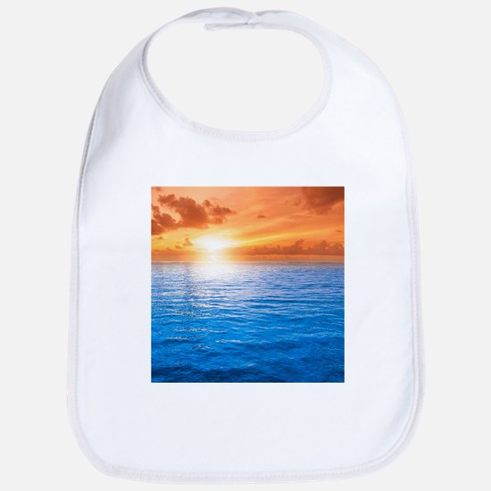 Ocean Sunset Bib