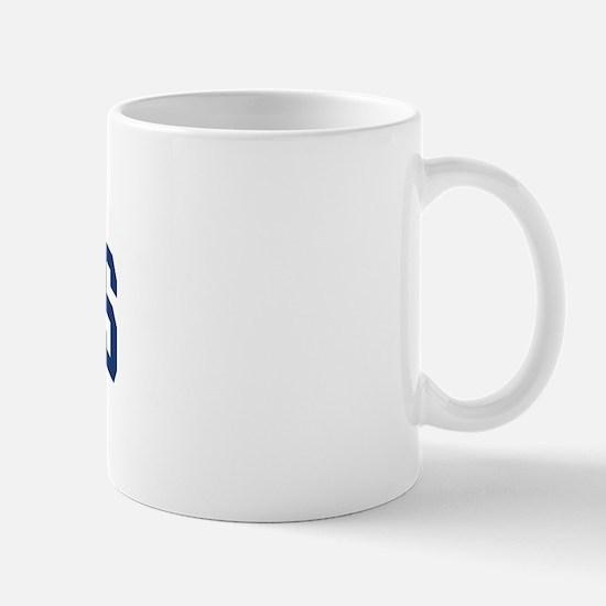 GELINAS design (blue) Mug