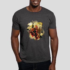 Deadpool Outta My Way Nerd Dark T-Shirt
